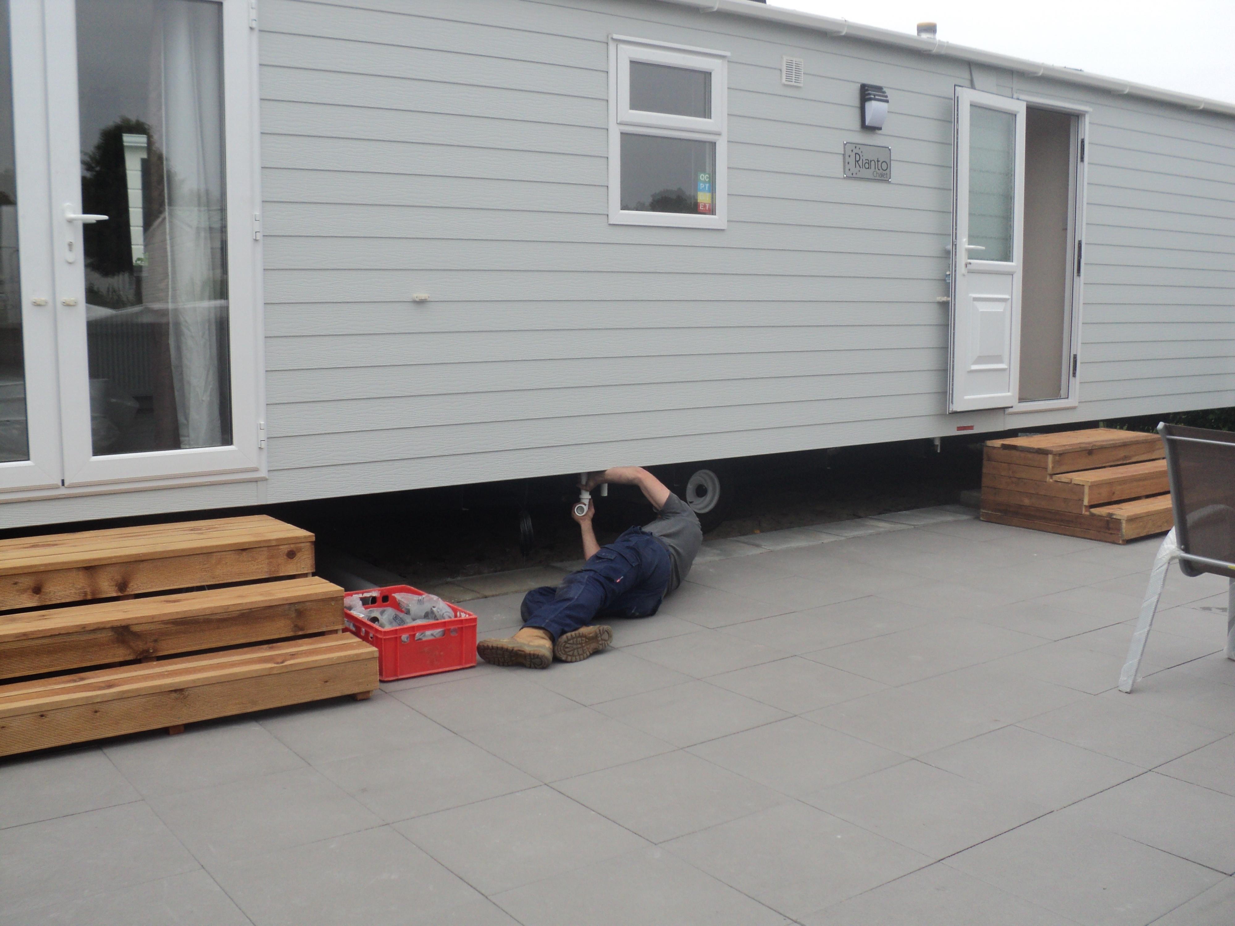 installatiebedrijf noldus caravan chalet winterklaar maken caravan chalet